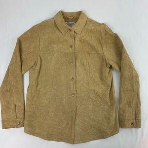 Pendleton Men's Suede Button Up.